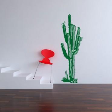 Sticker Cactus fleurs - stickers nature & stickers muraux - fanastick.com