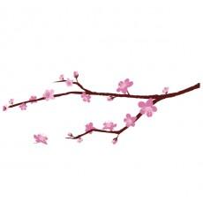 Sticker Branche cerisier en fleurs