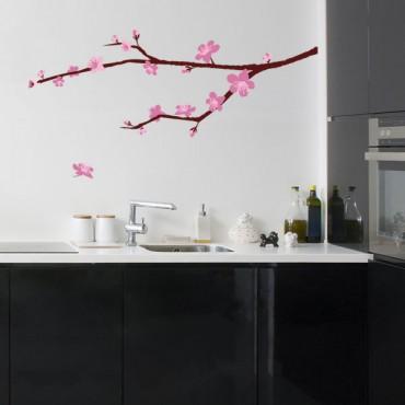 Sticker Branche cerisier en fleurs - stickers arbre & stickers muraux - fanastick.com