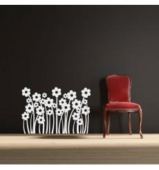Sticker Champs de fleurs