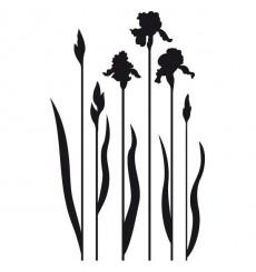 Sticker Fleurs iris