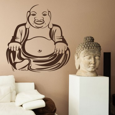 Sticker Bouddha - stickers monde & stickers muraux - fanastick.com