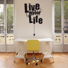 Sticker Live your life