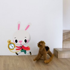 Sticker Lapin blanc