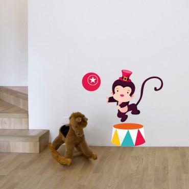 Sticker Singe savant - stickers animaux enfant & stickers enfant - fanastick.com