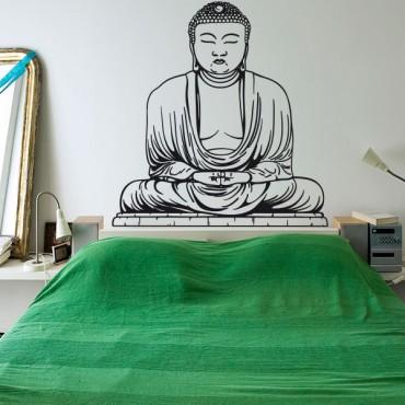 Sticker Bouddha statue - stickers monde & stickers muraux - fanastick.com