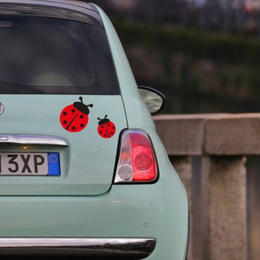 Sticker Coccinelle - stickers animaux & stickers muraux - fanastick.com