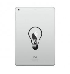 Sticker Ampoule pour Macbook et Ipad
