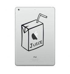 Sticker Jus de pomme pour Macbook et Ipad