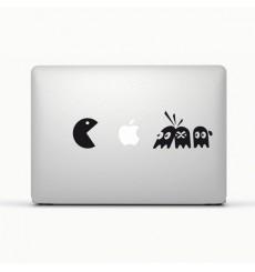 Sticker Pacman pour Macbook et Ipad