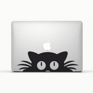 Sticker Chat pour Macbook - stickers macbook et ipad & stickers muraux - fanastick.com