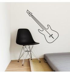 Sticker Guitare fil prise jack