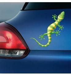 Sticker Salamandre verte