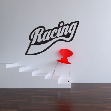 Sticker Racing - stickers chambre garçon & stickers enfant - fanastick.com