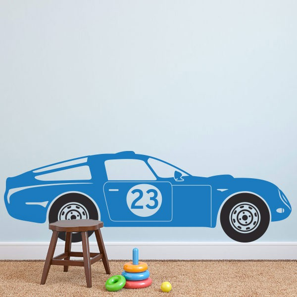 Awesome Chambre Garcon Voiture Bleu Pictures