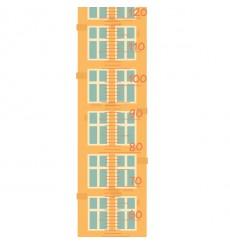 Sticker Toise maison