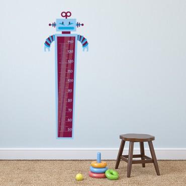 Sticker Toise robot - stickers toise & stickers enfant - fanastick.com