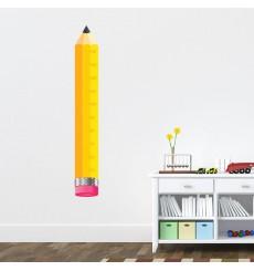 Sticker Toise crayon