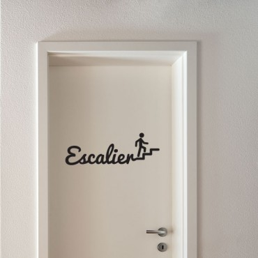 Sticker Escalier - stickers porte & stickers deco - fanastick.com