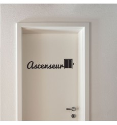 Sticker Ascenseur