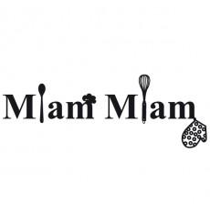 Sticker Miam Miam ustensiles