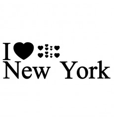 Sticker I love New York