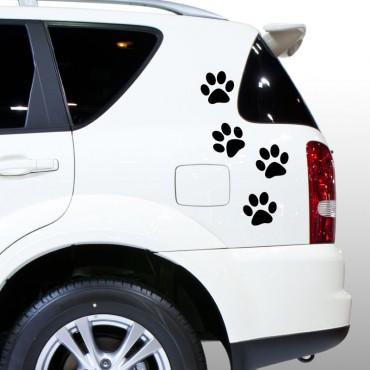 Sticker pattes de chat - stickers voiture & stickers voiture - fanastick.com