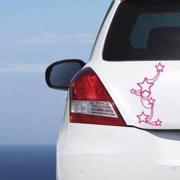 Sticker Etoiles attachées - stickers étoiles & stickers muraux - fanastick.com