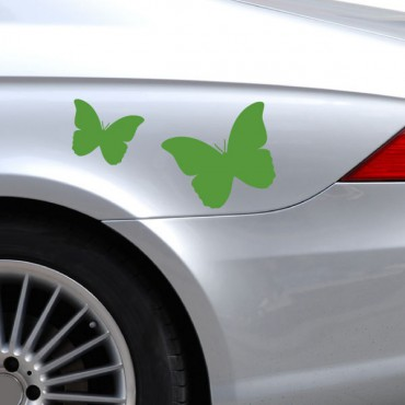 Sticker Papillon - stickers voiture & stickers voiture - fanastick.com