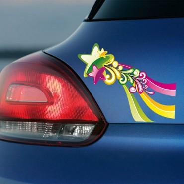 Sticker Etoiles colorées - stickers étoiles & stickers muraux - fanastick.com
