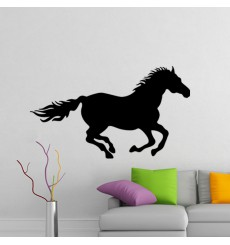 Sticker Cheval galopant