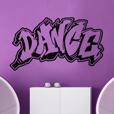 Sticker Graffiti Dance - stickers graffiti & stickers muraux - fanastick.com