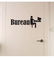 Sticker porte Bureau