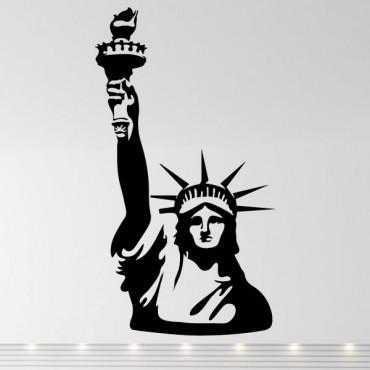 Sticker Statue de la Liberté - stickers new york & stickers muraux - fanastick.com