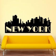 Sticker Panorama de New York