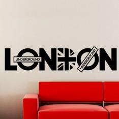 Sticker London Underground - Union Jack