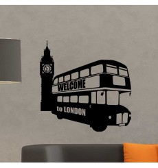 Sticker bus de Londres
