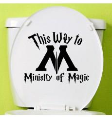 Sticker Ministère de la Magie