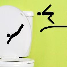 Sticker deux plongeurs