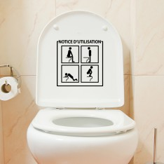 Sticker Notice d'utilisation