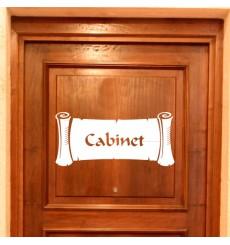 Sticker Papyrus Cabinet