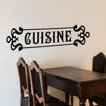 Sticker déco Cuisine rétro - stickers cuisine & stickers muraux - fanastick.com