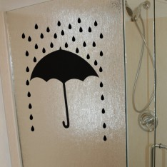 Sticker Design parapluie