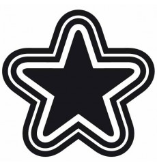 Sticker Single star