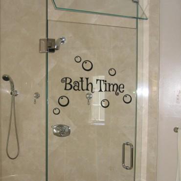 Sticker Bath time - stickers maison & stickers muraux - fanastick.com