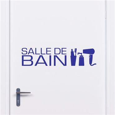 Sticker Design salle de bain - stickers porte & stickers deco - fanastick.com
