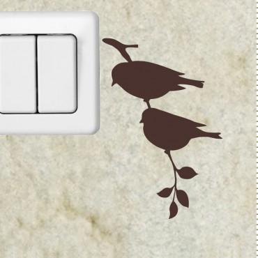 Sticker branche et l'oiseau 2 - stickers prise & stickers muraux - fanastick.com