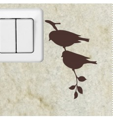 Sticker branche et l'oiseau 2
