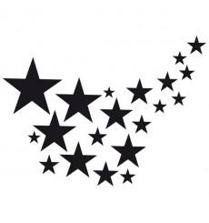 Sticker Trainée d'étoiles