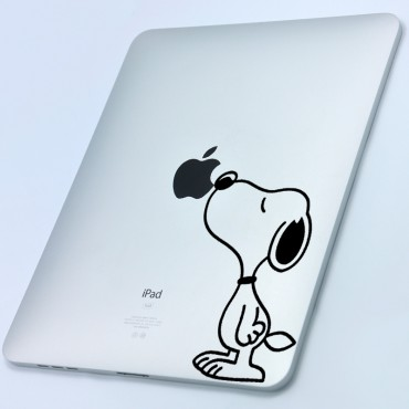 Sticker Snoopy - stickers ordinateur portable & stickers muraux - fanastick.com